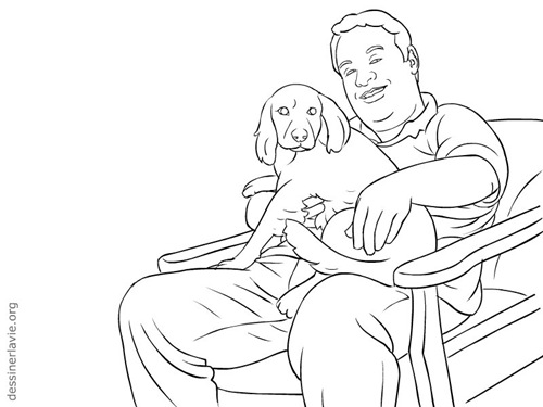 dessin-homme-chien-0002